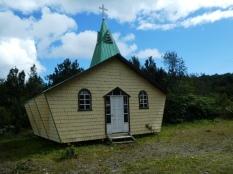 Holzkirche an der Carretera