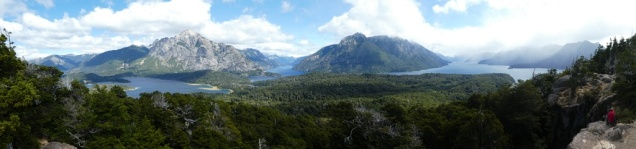 Panorama Nahuel Huapi-See