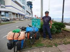 Carretera Austral km 0 in Puerto Montt