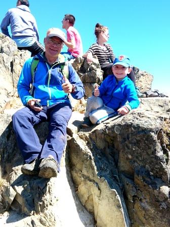 Die Männer auf dem Cerro Otto