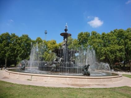 Brunnen der Kontinente im San Martin Park