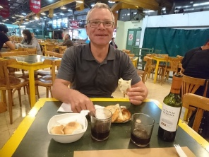 Empanadas im Mercado Central