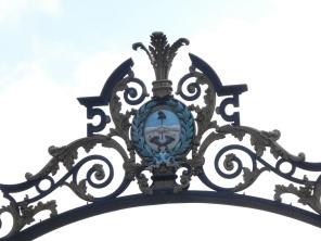 Eingang des Park San Martin