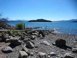 Baden und Entspannen am Nahuel Huapi See, direkt am Haus