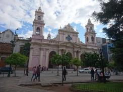 die Kathedrale von Salta ...