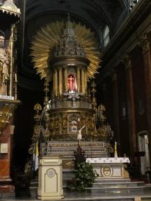 das Innere der Kathedrale