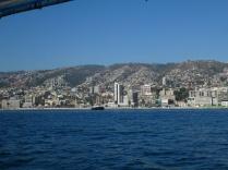 die Hügel von Valparaiso
