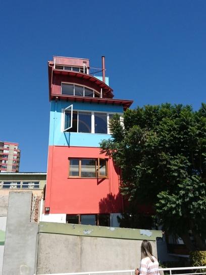 La Sebastiana - das Wohnhaus von Pablo Neruda in Valparaiso