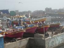 Fischerhafen in Concon