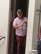 Don Sergio der Alfajores Bäcker