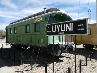 Bahnhof in Uyuni