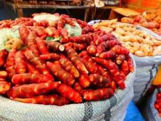auf dem Markt in Uyuni