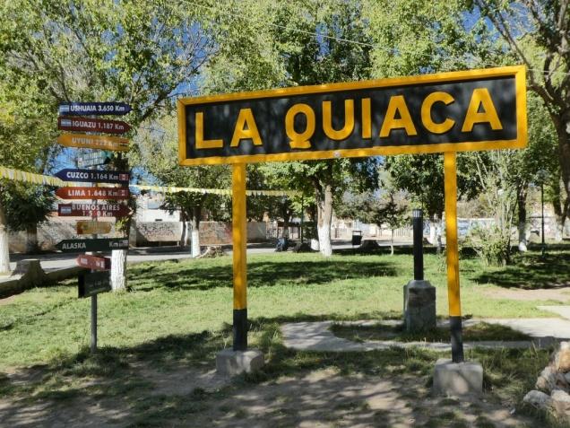 am nordwestlichsten Ende Argentiniens