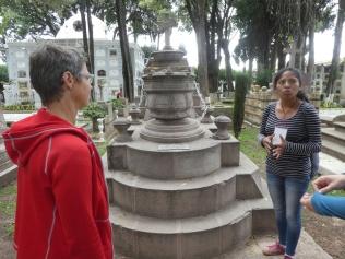 Führung auf dem Friedhof