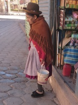 Bolivianerin inTupiza