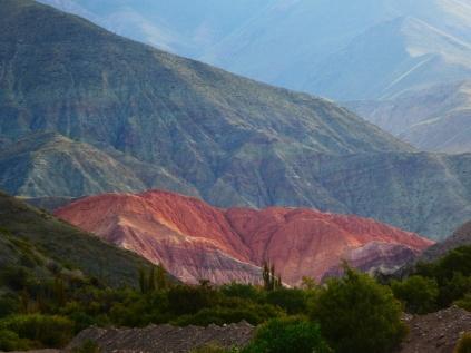 Der siebenfarbige Hügel von Purmamarca