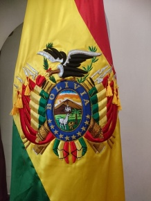 Flagge Boliviens