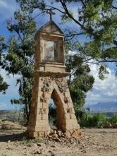Kreuzweg hoch zum Cerro Churuquella