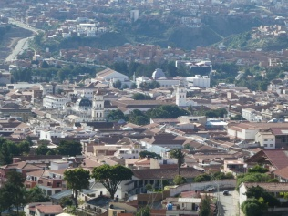Blick vom Cerro Churuquella