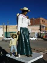 Denkmal in La Quiaca