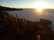 unser Sonnenuntergang auf der Isla