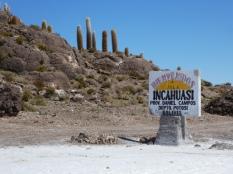 Willkommen auf der Isla Incahuasi