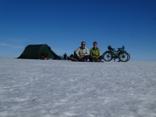 Zelten mitten auf dem Salar