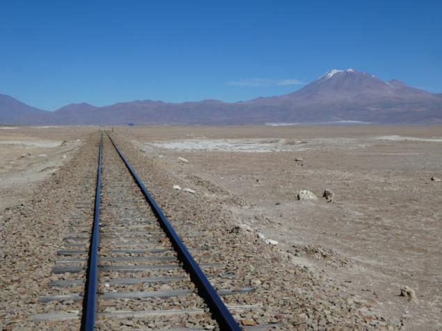 Irgendwo am Ende der Schienen ist die Grenze