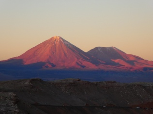 der Vulkan Licancabur