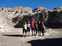 alter Salzabbau im Valle de la Luna