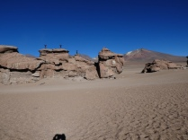 in der Wüste Siloli
