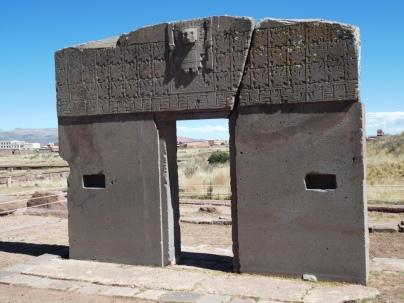 Das Sonnentor von Tiwanaku