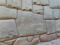 der Stein mit 12 Ecken in der Inkamauer in Cusco