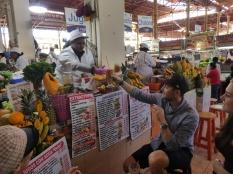 Vitaminbombe im Mercado San Camilo