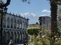 tolle Aussicht vom Plaza de Armas