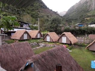 unsere Hütten in Chaullay