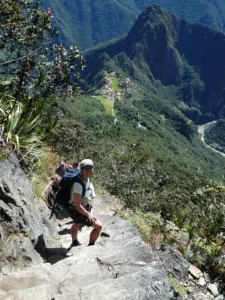 Abstieb vom Montana Machu Picchu