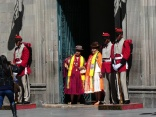 traditionelle Wache vor dem Parlament