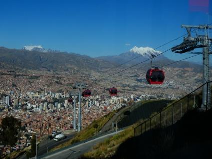 La Paz mit Illimani