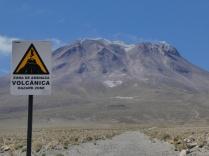 der Vulkan Ollague