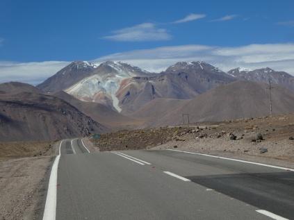 Blick zurück auf den Cerro del Azufre