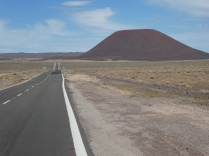 an diesem Mini-Vulkan zelten wir