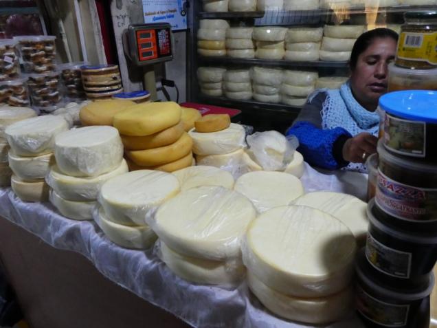 Käse für die Wanderung