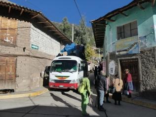 Bus in Chiquian