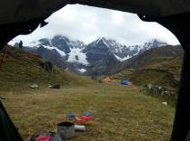 Camp Carhuacocha 4145m