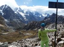 am Siula-Pass 4830m