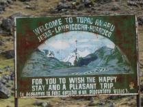 Camp Huayhuash 4330m