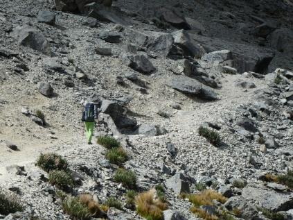 Aufstieg Portachuelo de Huayhuash 4780m