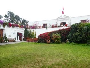 Garten im Museo Larco